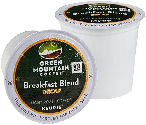 Green Mountain Coffee Breakfast Blend Decaf K-Cups - ct 100