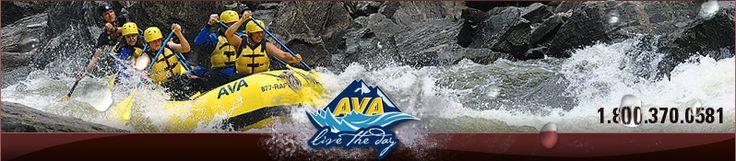AVA - rafting, ziplines, rock climbing, horseback riding, fishing, hiking, hot springs