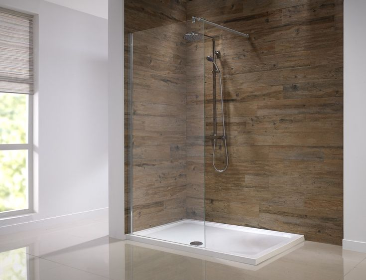 Orca Walk In Glass Wetroom Shower Screen   Glass