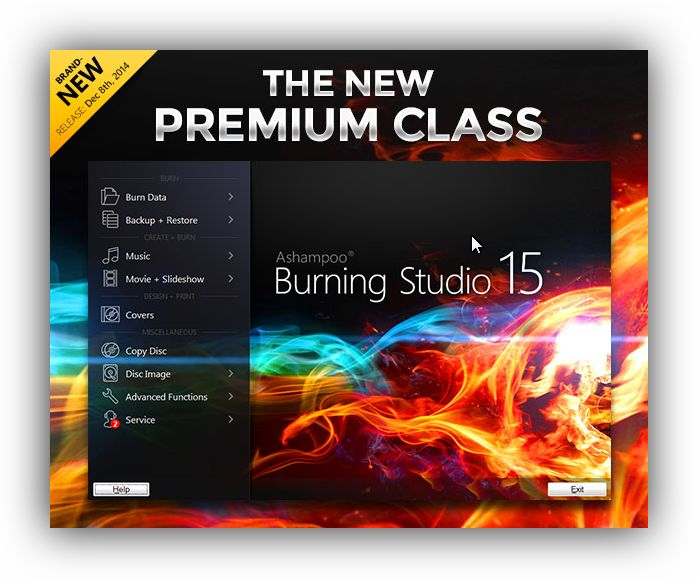 Ashampoo® Burning Studio 15 Preorder (PC) 40% Discount Coupon Code  We created Ashampoo Burning Studio 15 – everything you need. - Ashampoo Burning Studio 15 represents 15 years of developing experience with burning software used and trusted by more than 12 million users - Available in over 40 languages with satisfied customers in over 200 countries - Trust the most renowned label in burning software: Ashampoo® Burning Studio