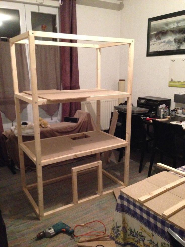 Construction cage à lapin | Erron