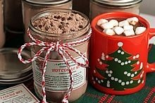 Double Chocolate Hot Cocoa Mix--With Gift Jar Tags