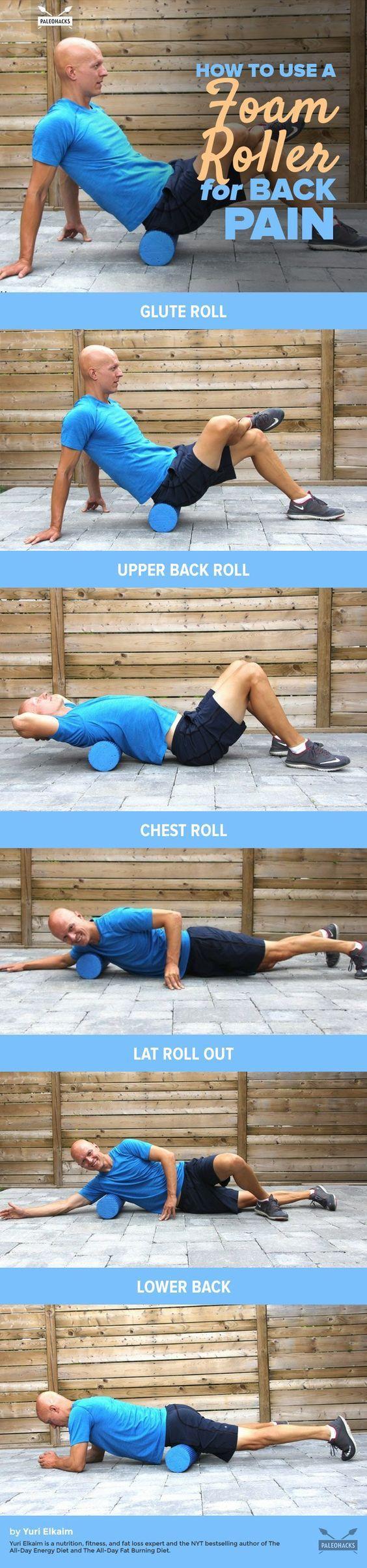 foam roller exercises for back pain