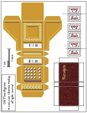 New Miniature Printables | ... mini food products, miniature printables , cardboard furniture