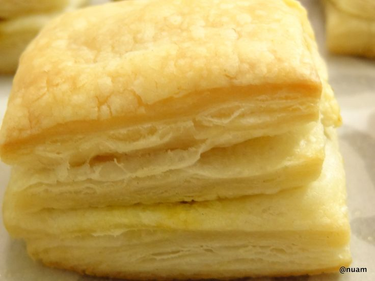 How to Make Puff Pastry  The principle behind the pastry is to create many layers of dough and butter by folding and turning the two together. (Unlike short pastry, the butter is not incorporated into the dough but rather folded into the layers).