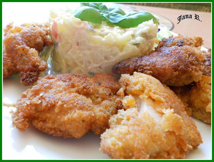 kuřecí kousky v pikantním těstíčku(bylinky)