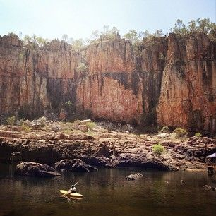 Kayak in Katherine Gorge | 40 Uniquely Australian Experiences To Add To Your Bucket List