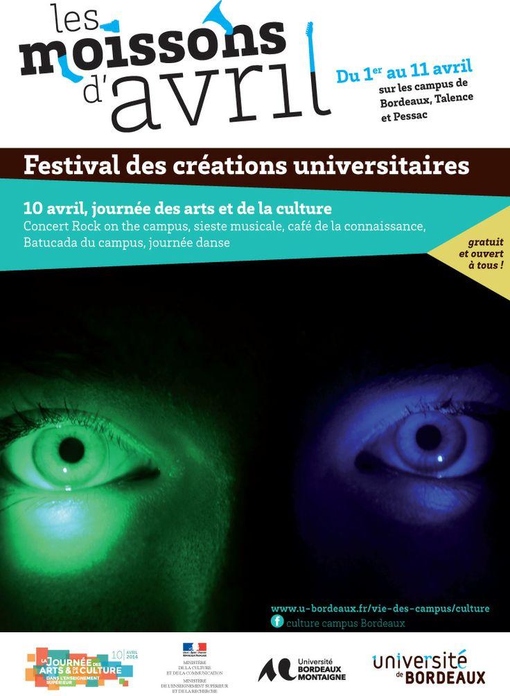 ©université Bordeaux 3 Journée des arts et de la culture dans l'enseignement supérieur