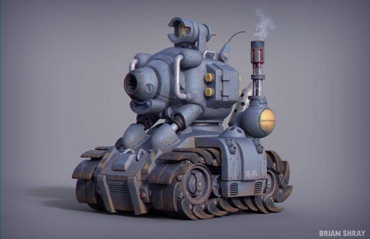 Metal Slug SV-001 Tank by Brian Shray