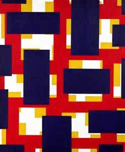 Nassos Daphnis (1914-2010)  was a Greek born American abstract painter & tree peony breeder. He was originally a florist. As a painter Daphnis was considered to have worked in the Hard-edge and Geometric abstraction style looking back towards the opus of Piet Mondrian. He was categorized as an abstract imagist a term which arose from a 1961 exhibition in the Solomon R. Guggenheim Museum, New York called American Abstract Expressionists.