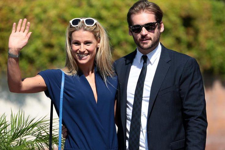 Baby Nummer 4? Michelle Hunziker - hier mit ihrem Liebsten Tomaso Trussardi -bereitet den anhaltenden Schwangerschafts-Gerüchten ein Ende.