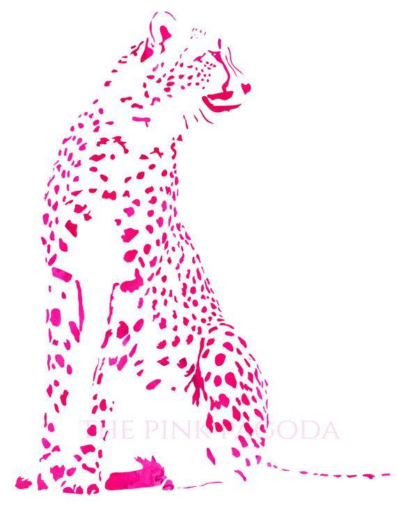 Cheetah in Pink