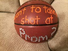 promposal with basketball - Google Search