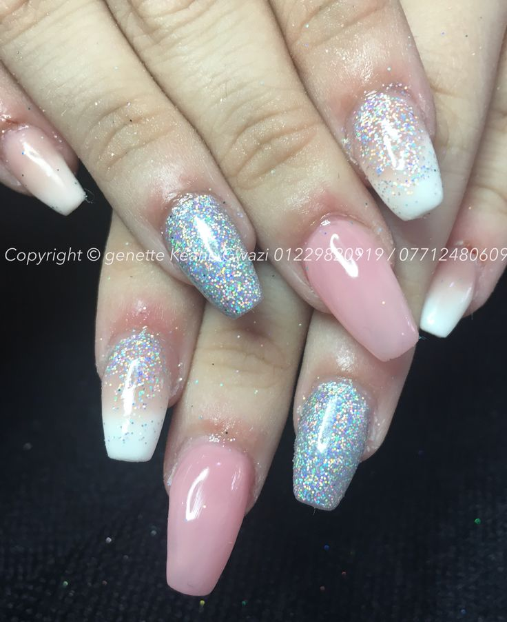 Best 25 glitter acrylics ideas on pinterest for Acrylic toenails salon