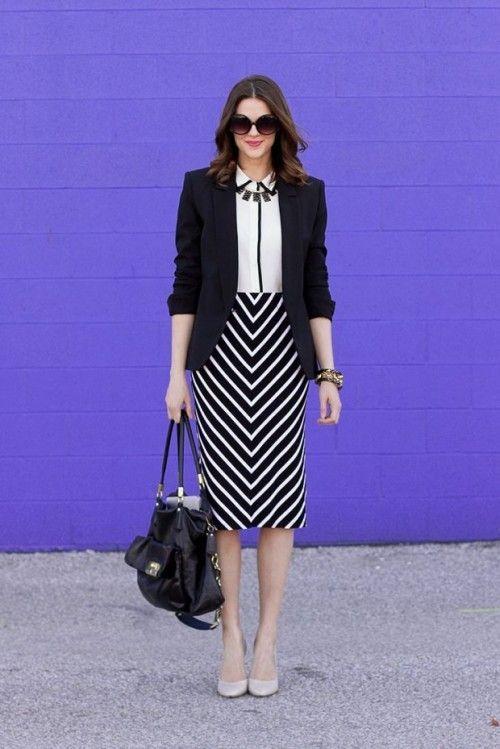 21 Trajes para el Otoño con estilo para el Trabajo – Lindos Outfits