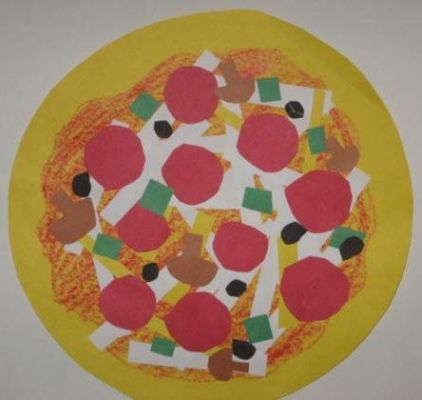 Shape Collage Pizzas Lesson Plan: