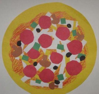 Shape Collage Pizzas Lesson Plan: