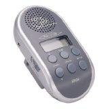 Point  Fahrradradio BR 24 mit PLL-Tuner und MP3-Anschluss, silber