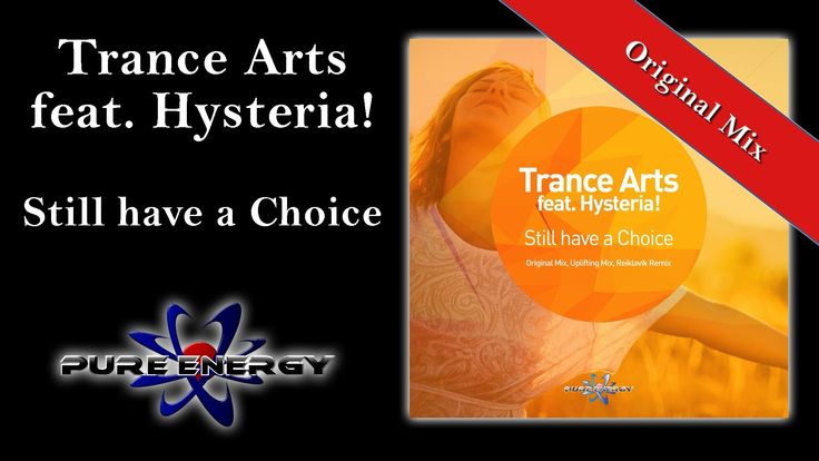 """Trance Arts feat. Hysteria! - Still have a choice (Original Edit) http://ift.tt/1wPubs9 http://ift.tt/11CntMY http://ift.tt/1wPudjV http://ift.tt/11Cnu3f http://ift.tt/1wPubsb http://ift.tt/2E7YiFS http://ift.tt/11Cnu3h http://ift.tt/1vkOGNo Original Mix/Edit Uplifting Mix/Edit Reiklavik Remix/Edit Info: """"Still have a Choice"""" is the third release of the popular Trance Arts on Pure Energy Records. After having successfully published two EPs this is another awesome collaboration with Hysteria…"""