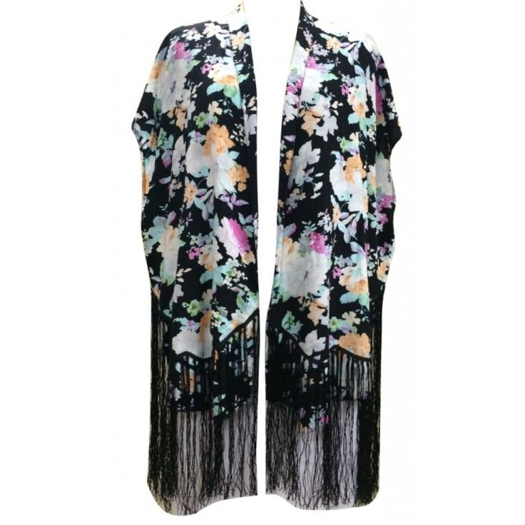 Fringed Cape. Buy online or in store