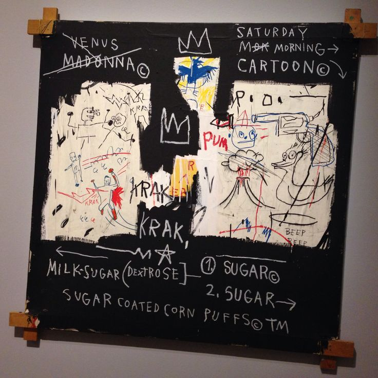 #basquiat at montreal mbam