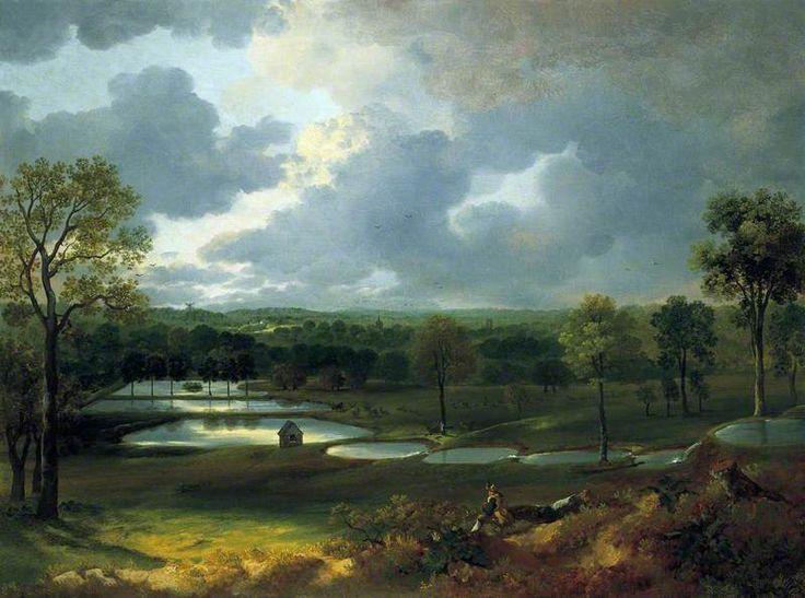 https://flic.kr/p/e1S9Wa | Thomas Gainsborough - Holywells Park, Ipswich