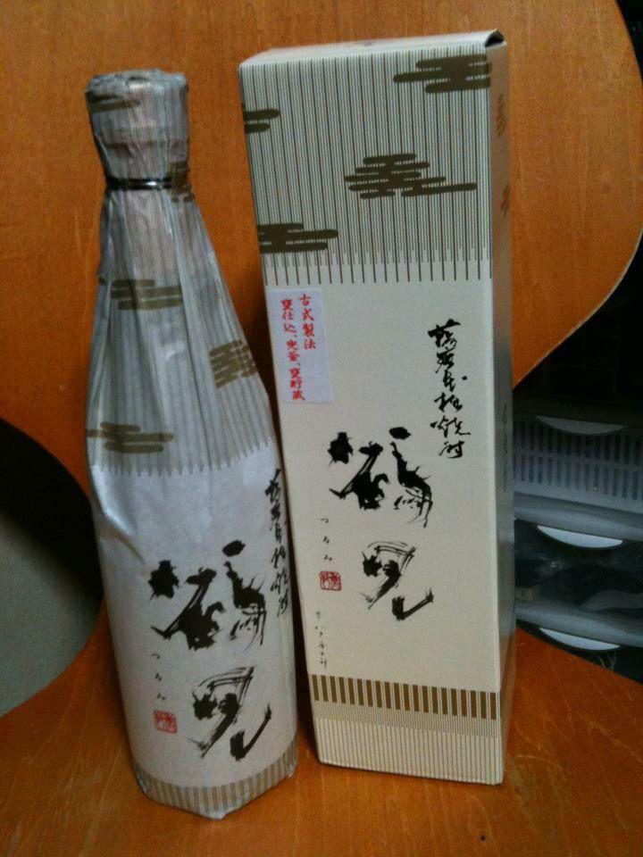 阿久根の鶴見。大石酒造さんによる、古式かぶと釜蒸留。ノーマルに比べ格別。