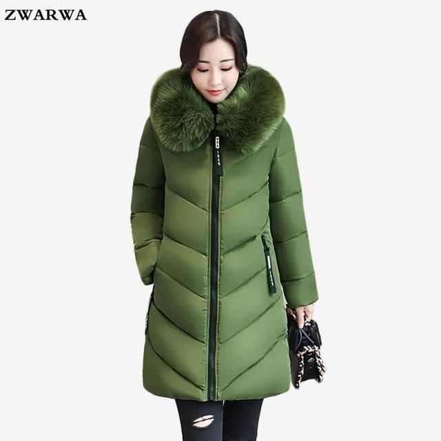 Fubotevic Men Thicken Winter Plus Size Faux Fur Hooded Down Quilted Jacket Coat Outwear