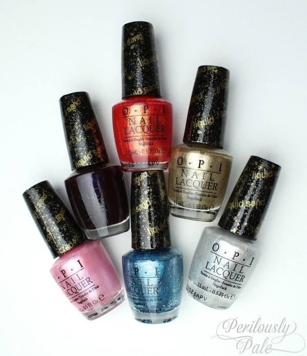 Sneak Peak ~ OPI Bond Girls Liquid Sand Nail Lacquer Collection