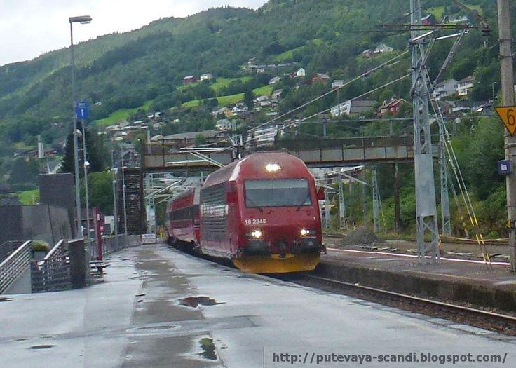 Photoode to the Bergen Railway