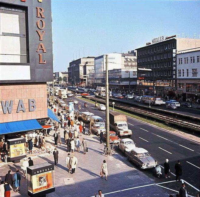 BERLIN 1965 Kino Royal Palast in der Tauentzienstrasse