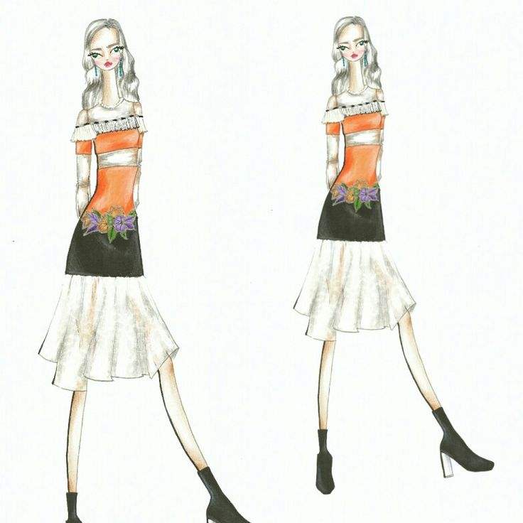 Wonderland (9)  Fashion sketch