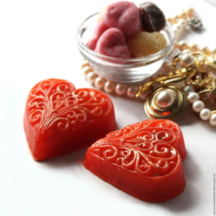 "Buy Natural glycerin soap ""Heart"" - natural soap, glycerine soap, soap from scratch"