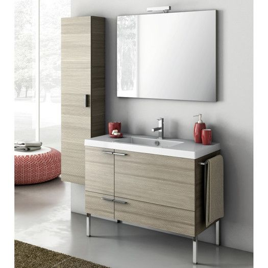 FREE SHIPPING! Shop AllModern for ACF Bathroom Vanities New Space 39 Single…