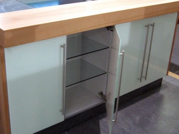 glass cabinet door frameless - Google Search (With images ...