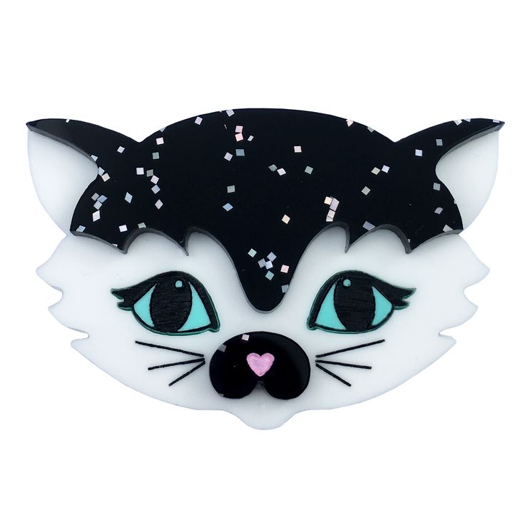 STAR STRUCK SADIE CAT brooch by Louisa Camille