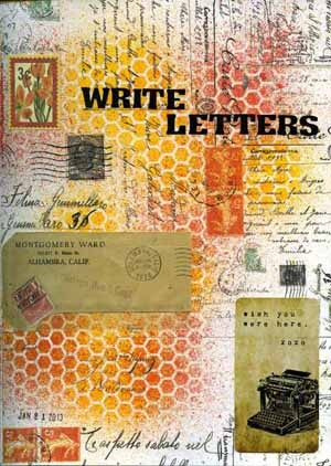 """""""A Letter from the Editor"""" by: Stefan Haarlan - """"Writing Letters"""" by:  Kay Wallace -for Scrapbooking.com March 2013 issue"""