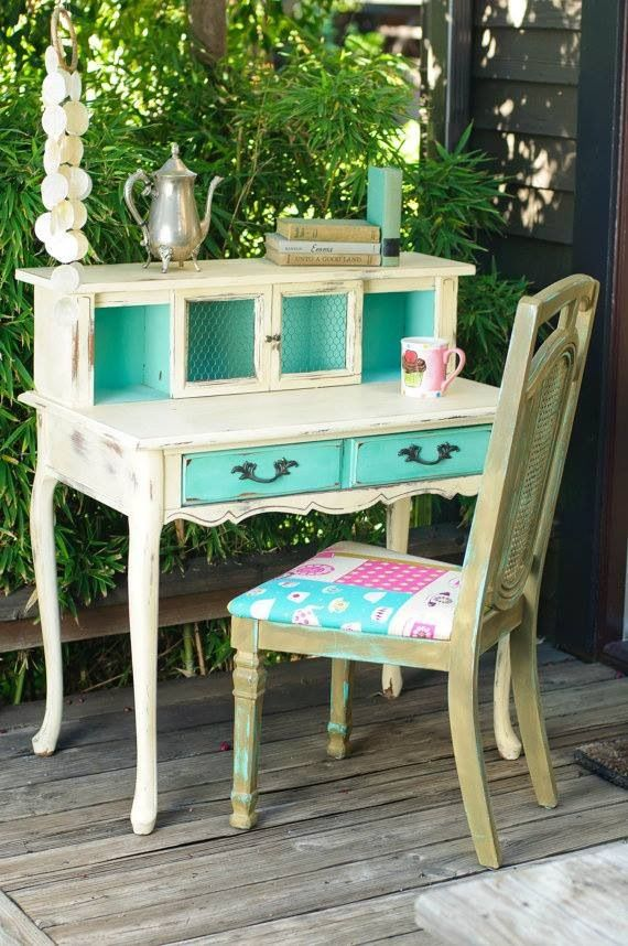 Muebles restaurados estil vintage muebles pinterest for Muebles restaurados vintage
