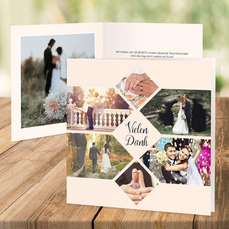 7 Diy Gastgeschenkideen Für Die Hochzeit Myprintcard: Die Besten 25+ Dankeskarte Hochzeit Ideen Auf Pinterest