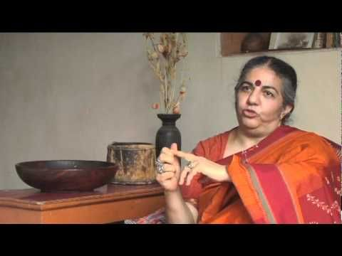 VIDEO: A SYSTEM BASED ON PROFITS IS ....Vandana Shiva on Our Industrial Economy   Local Economies vs Global Economies - Food is Not just a Commodity If we have a ravished earth there is no economy.   Globalization is taking us back to the most primitive of economies.  It is time to readjust our priorities.  We have to move from economies that are killing us, democracies that are dying, we need to move to living democracies, local living economies before too much is destroyed.
