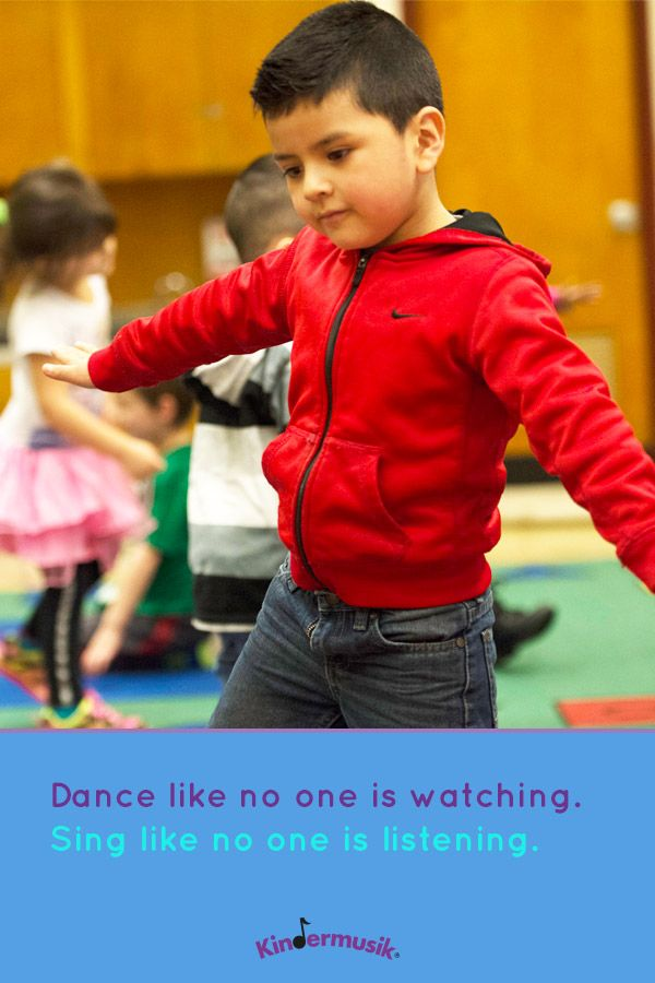 Dance like no one is watching. Sing like no one is listening.