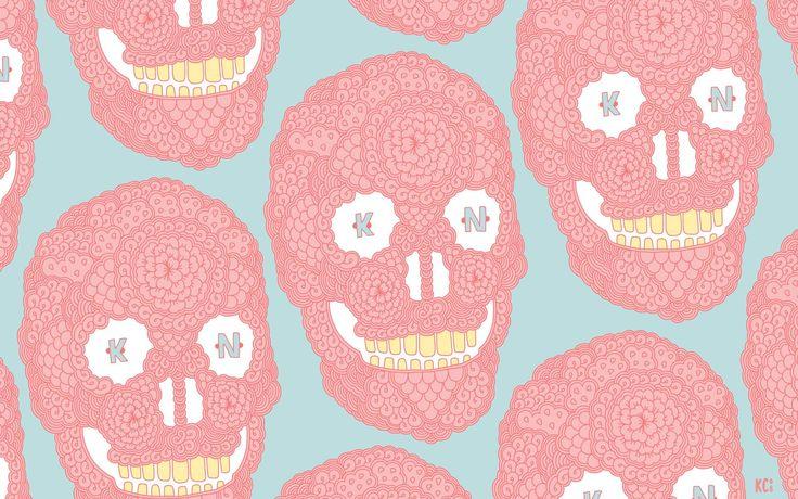 розовый череп - Поиск в Google