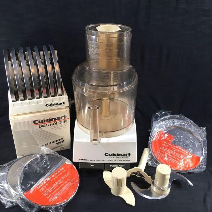 Cuisinart dlc7 pro food processor 14 blades commercial