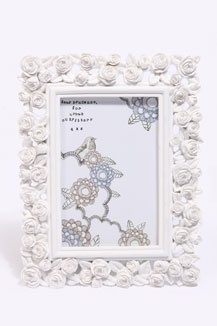 Antique Rose Frame