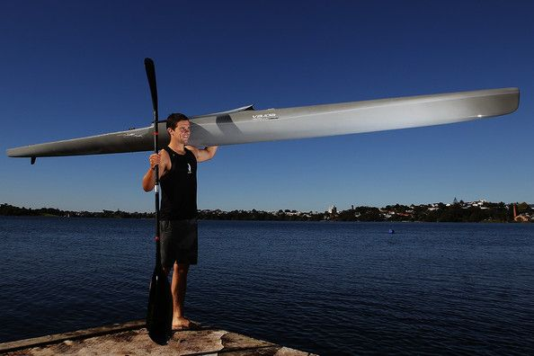 Darryl Fitzgerald Darryl Fitzgerald poses for a portrait after being named in the 2012 New Zealand Olympic Games Canoe Sprint team at North ...
