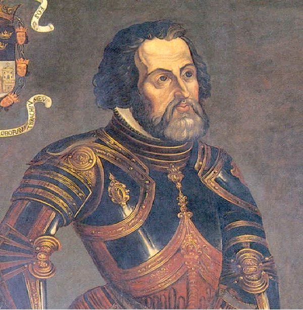 Invaded by Hernando Cortez in 1519 In 1519, Hernando Cortes led the Spanish conquest, overtaking the Aztec Empire.