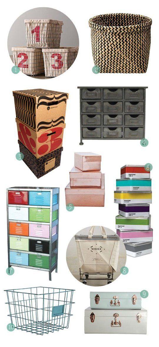 10 Alternatives to Plastic Storage Bins — Shopping Guide
