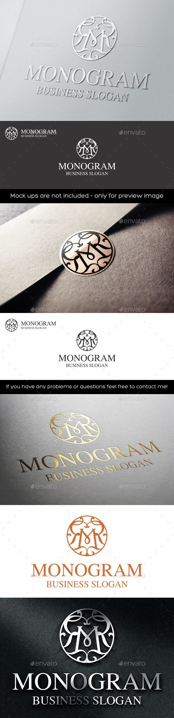 Vintage Monogram M Logo Letter — Vector EPS #classy #business • Available here → https://graphicriver.net/item/vintage-monogram-m-logo-letter/11415212?ref=pxcr