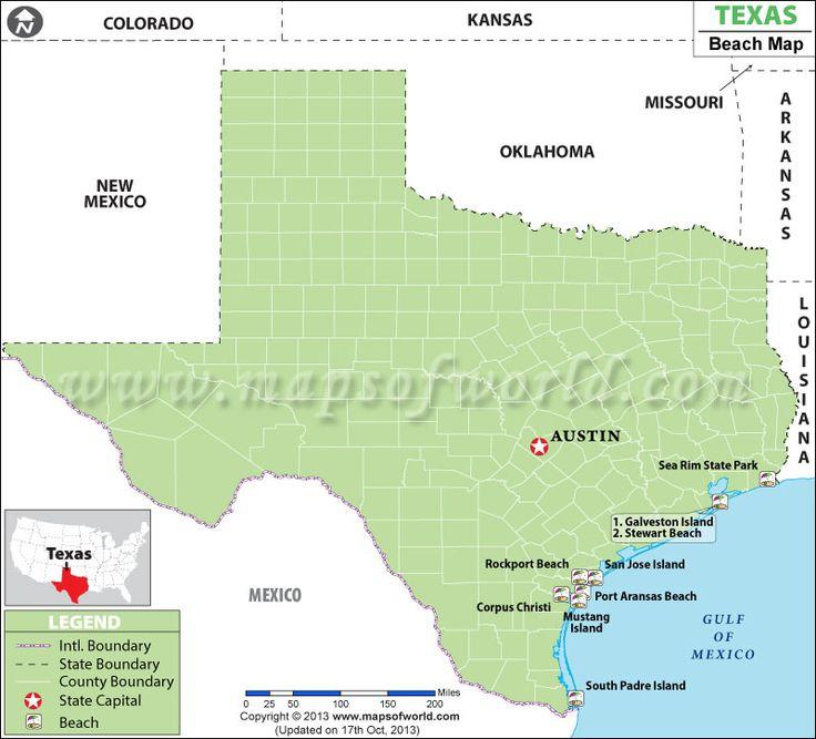 Mejores Imágenes De USA Maps En Pinterest Mapas Imprimibles - Mapas de texas