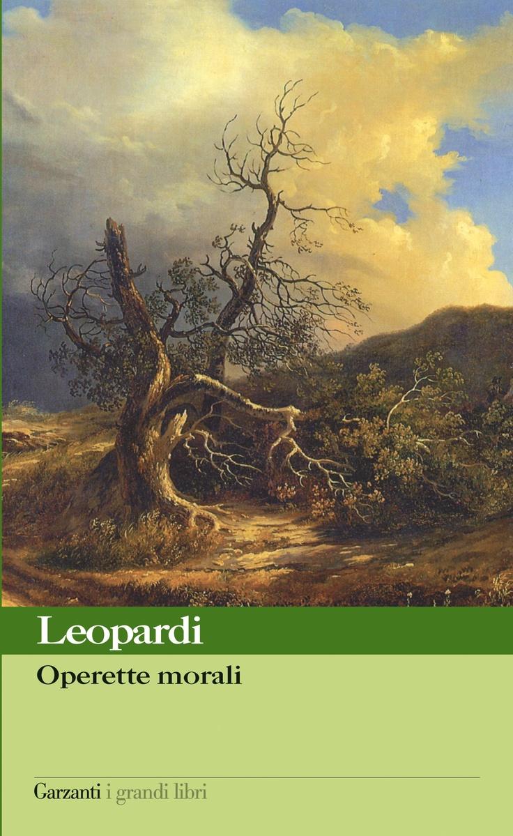 Giacomo Leopardi, Operette morali